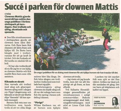 Clownen_Mattis_OnsalaTTEla_expo